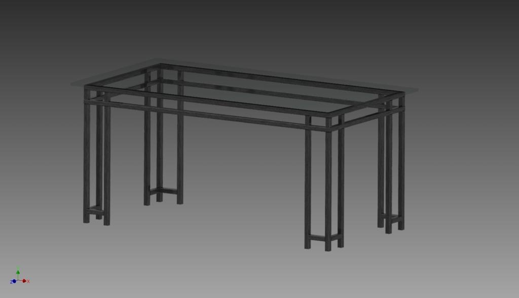 van de kamp design_tafelframe 3d